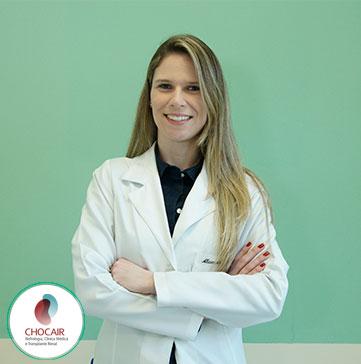 Foto da Dra. Alessandra Martins   Chocair Médicos