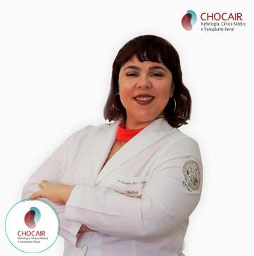 Foto da Dra. Bernadete Ferreira | Chocair Médicos
