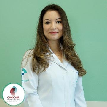 Foto da Dra. Sara Mohrbacher | Chocair Médicos