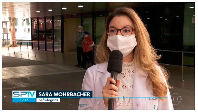 Após 137 Dias Internado Por Causa Da Covid-19, Aposentado De 59 Anos Tem Alta Em São Paulo   Dra Sara   Chocair Médicos