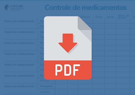 Ícone Controle de Medicamentos | Chocair Médicos